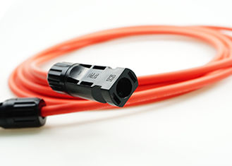 Red 1x4mm2  Solar Cable , TUV Solar Cable For Solar Power System