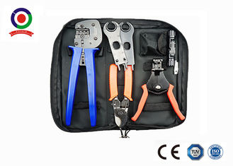 Black Bag  Crimping Tool Kit Solar Photoroltaic Connector For Solar System