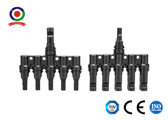 IP67 Waterproof 1000VDC 30A 1 To 5 T Branch Connector